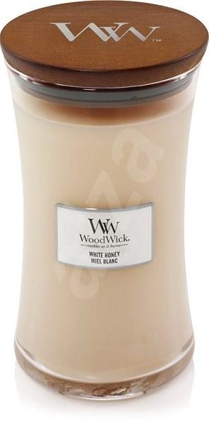 WOODWICK White Honey 609 g - Svíčka
