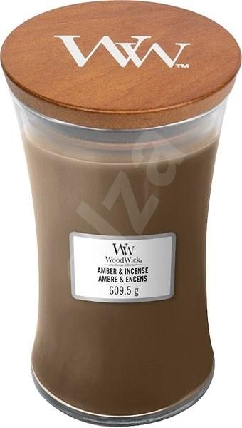 WOODWICK Amber and Incense 609 g - Svíčka