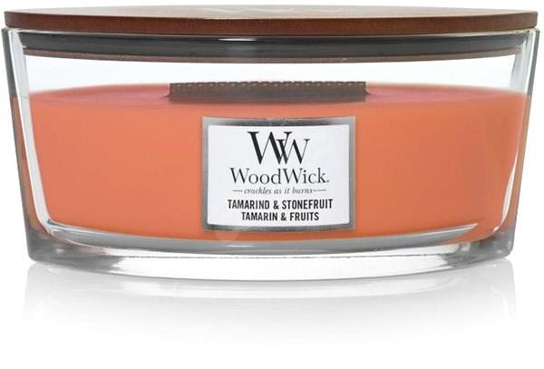 WOODWICK Tamarind and Stonefruit 453 g  - Svíčka