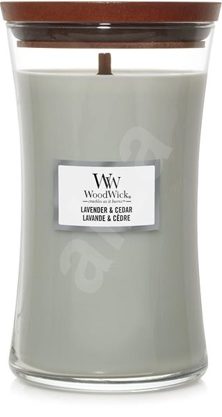 WOODWICK Lavander and Cedar 275 g - Svíčka
