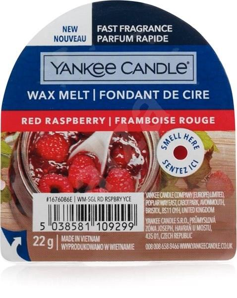 YANKEE CANDLE Red Raspberry, 22g - Aroma Wax
