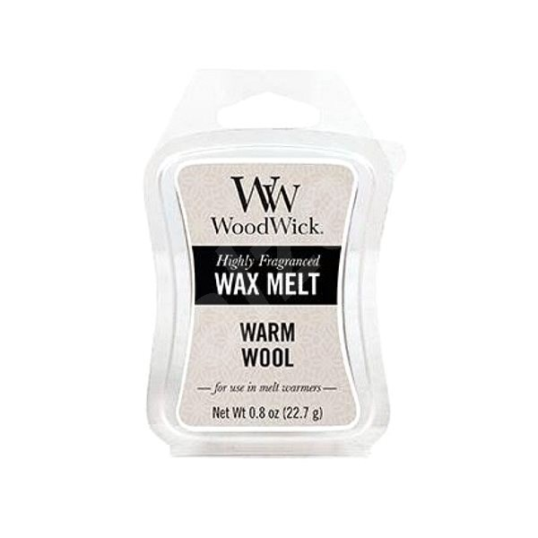 WOODWICK Warm Wool 22,7 g - Vonný vosk