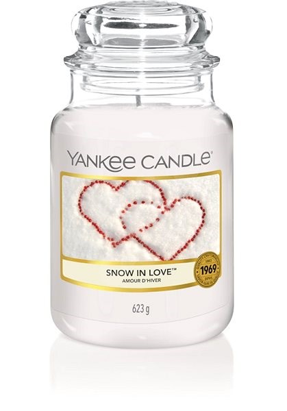 YANKEE CANDLE Snow in love 623 g - Svíčka