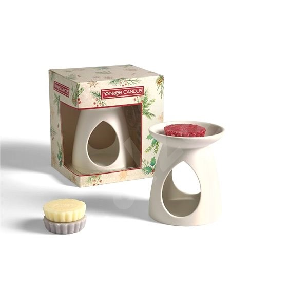 YANKEE CANDLE Aroma Lamp and Fragrant Wax Set - Gift Set