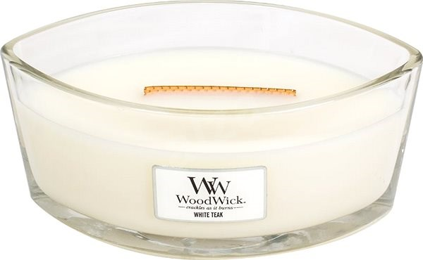 WOODWICK White Teak 453g - Candle