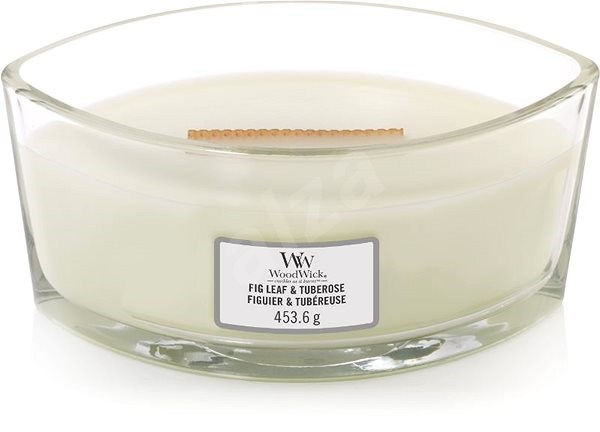 WOODWICK Fig Leaf and Tuberose 453g - Candle
