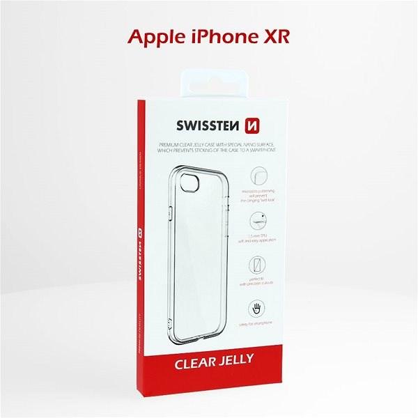 Swissten Clear Jelly pro Apple iPhone XR - Pouzdro na mobil