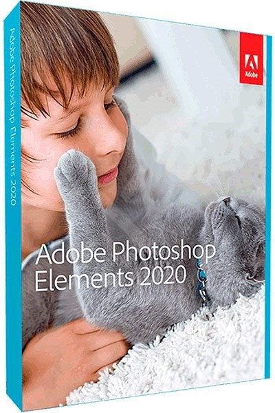 Adobe Photoshop Elements 2020 ENG Upgrade WIN/MAC (BOX) - Grafický software