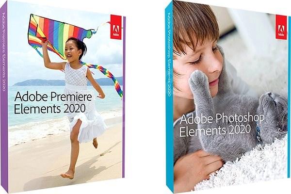 Adobe Photoshop Elements + Premiere Elements 2020 CZ Student & Teacher WIN (BOX) - Grafický software