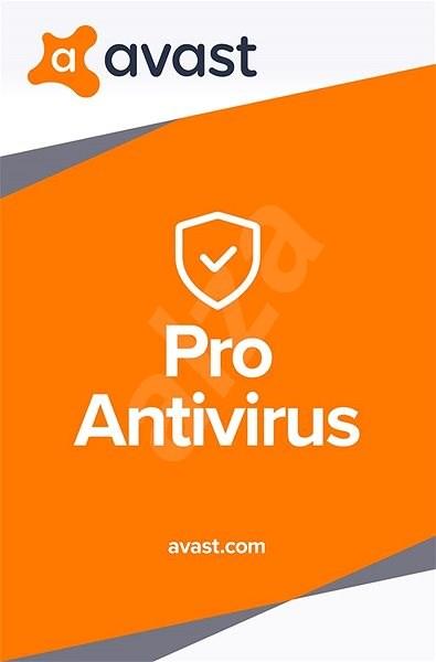 Avast Pro Antivirus pro 1 počítač na 24 měsíců (elektronická licence) - Elektronická licence