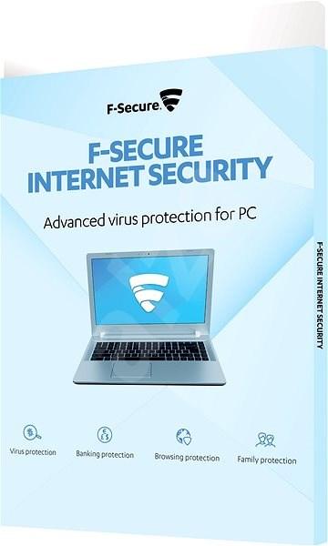 F-Secure INTERNET SECURITY pro 3 zařízení na 1 rok  BOX - Antivirus