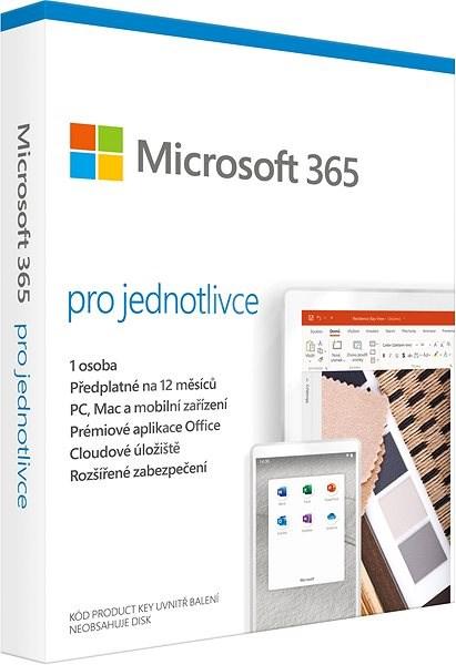Microsoft 365 pro jednotlivce CZ (BOX) - Kancelářský software