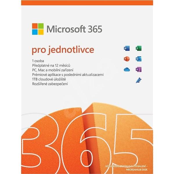 Microsoft 365 pro jednotlivce (elektronická licence) - Kancelářský software