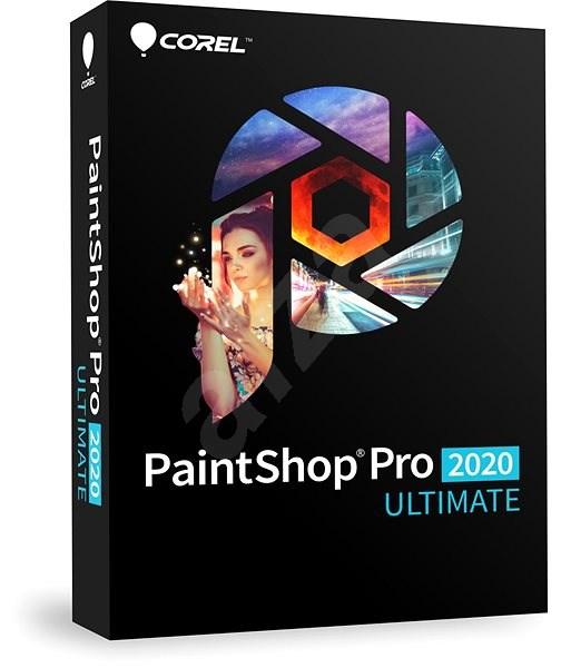 PaintShop Pro 2020 Ultimate Mini Box EN (BOX) - Grafický software