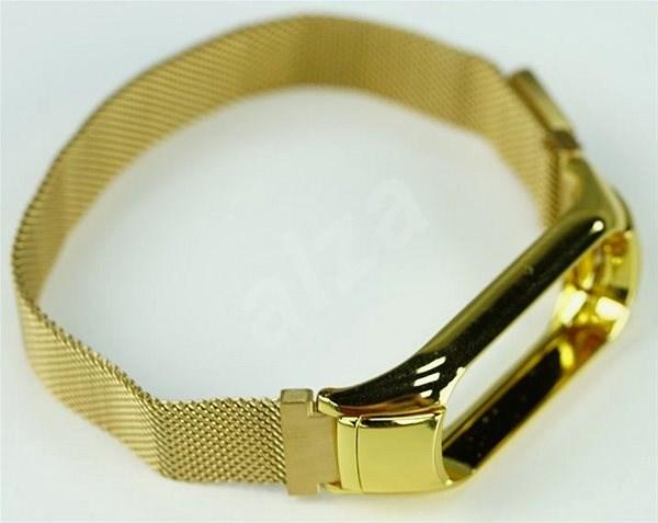 SXT Mi Band 3 kovový náramek (M-lock) zlatý - řemínek  46e435e7f5d