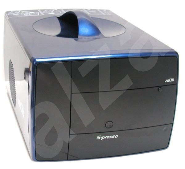 ASUS Barebone S-presso S1-P112, P4P8T, 2xDDR400, USB2.0, int. VGA+AGP8x, audio, LAN - Počítačová skříň