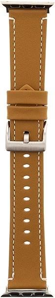 Tactical Color Kožený řemínek pro Apple Watch 42mm Gold - Řemínek