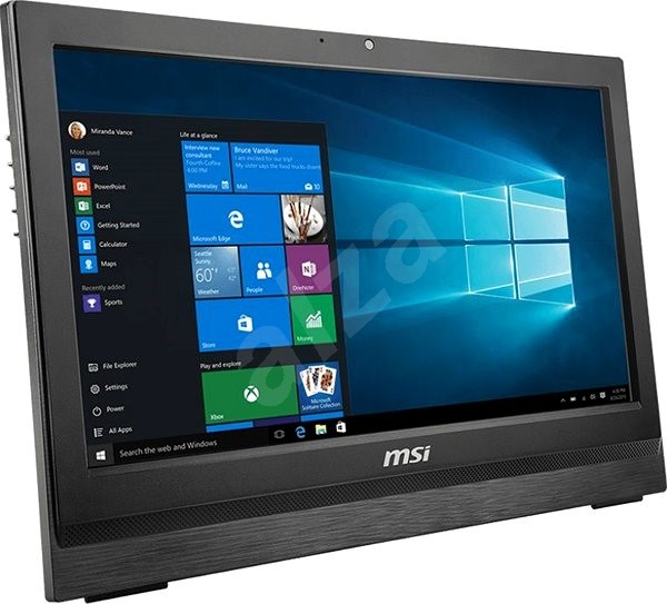 MSI Pro 20 6M-022XEU Black - All In One PC