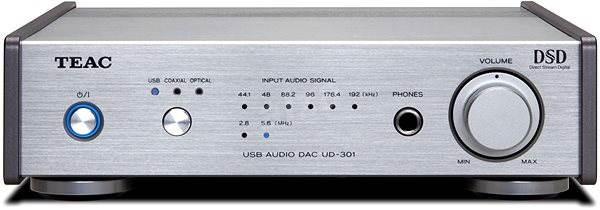 Teac UD-301 stříbrný - DAC převodník