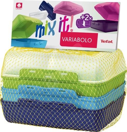 Tefal VARIOBOLO CLIPBOX 2ks barevná dóza - chlapecká - Sada dóz