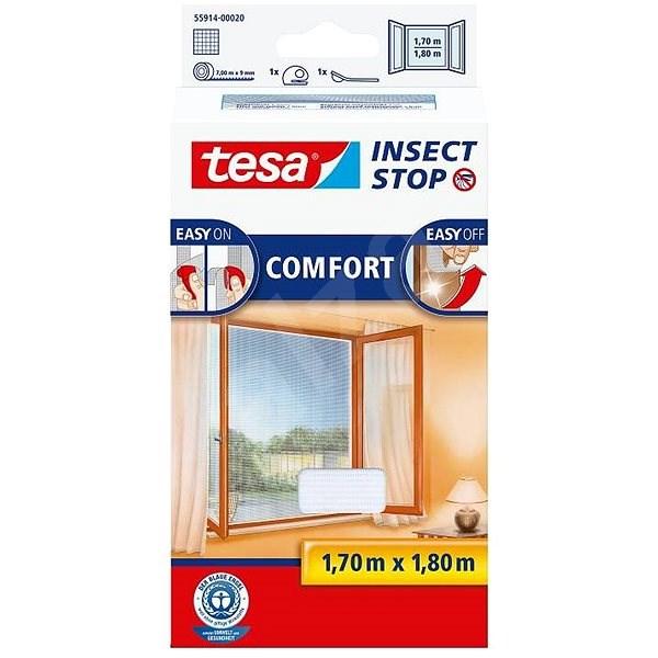 tesa COMFORT 55914 bílá - Síť proti hmyzu