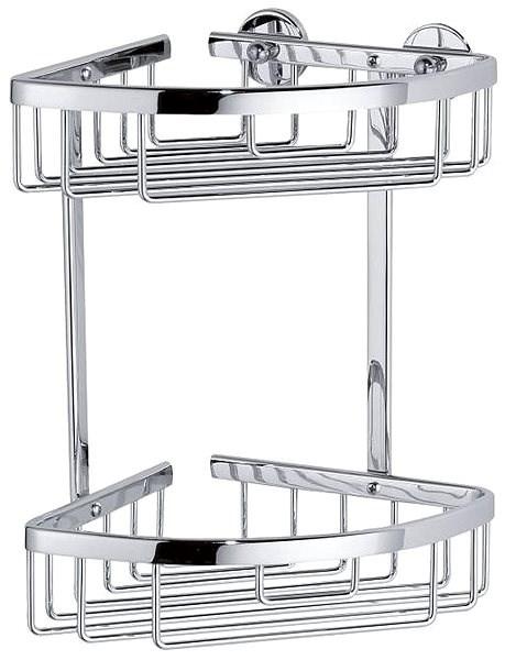 tesa Aluxx 40205 - Rohový košík