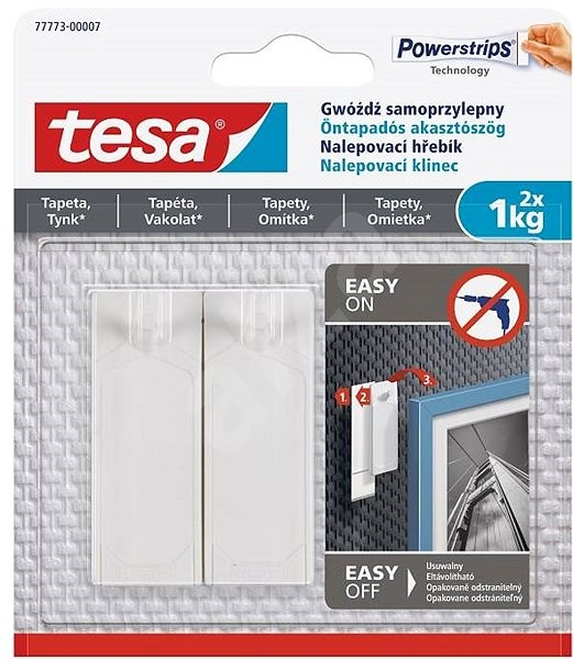 Tesa Adhesive Nail for Wallpaper and Plaster 1kg - Hook