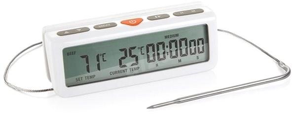 Tescoma Digitální teploměr do trouby ACCURA, s minutkou 634490.00 - Digitální teploměr