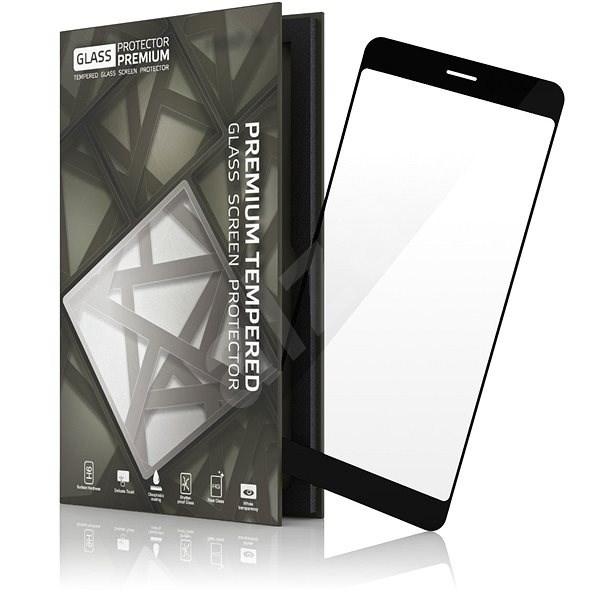 Tempered Glass Protector Rámečkové pro Google Pixel 2 XL Černé - Ochranné sklo