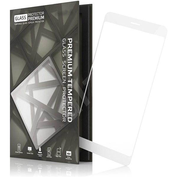 Tempered Glass Protector Rámečkové pro Huawei P9 Lite (2017) Bílé - Ochranné sklo