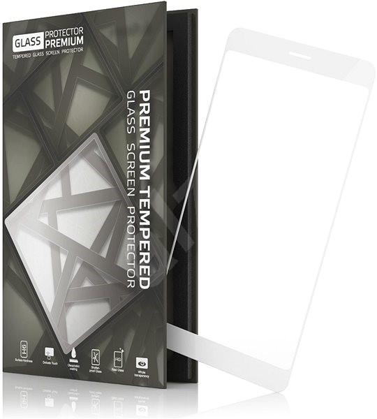 Tempered Glass Protector Rámečkové pro LG G6 Bílé - Ochranné sklo