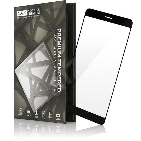 Tempered Glass Protector Rámečkové pro Samsung Galaxy A3 (2017) Černé - Ochranné sklo