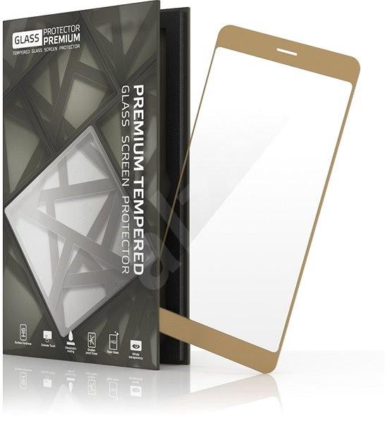 Tempered Glass Protector Rámečkové pro Samsung Galaxy J5 (2017) Zlaté - Ochranné sklo