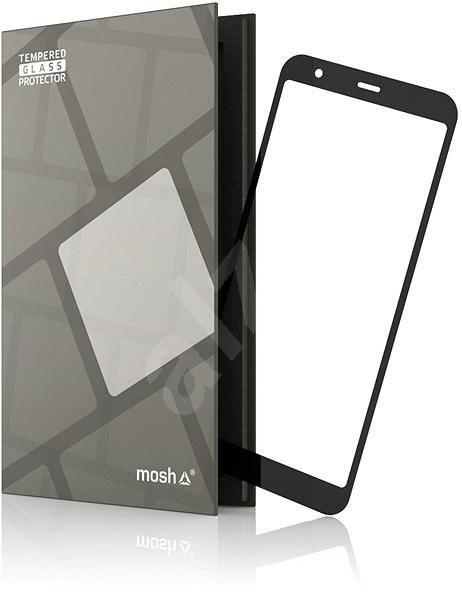 Tempered Glass Protector Rámečkové pro Asus Zenfone Max Plus ZB570TL Černé - Ochranné sklo