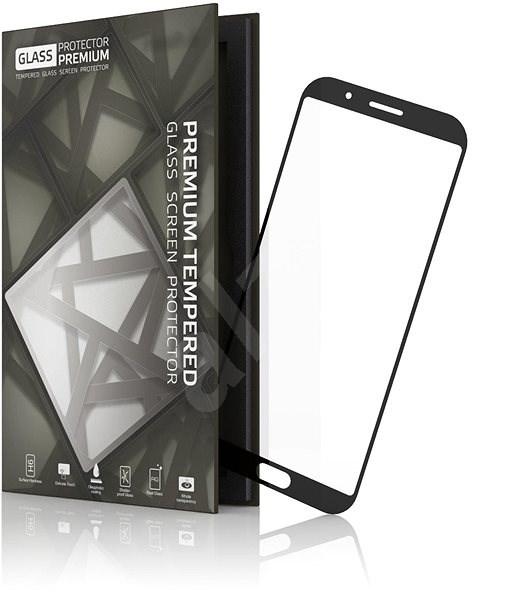 Tempered Glass Protector Rámečkové pro Xiaomi Black Shark černé - Ochranné sklo