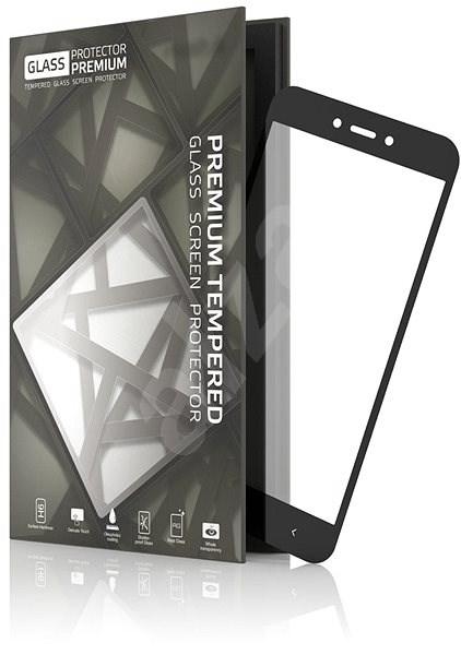 Tempered Glass Protector Rámečkové pro Xiaomi Redmi Go Černé - Ochranné sklo
