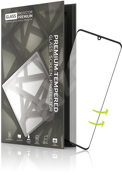 Tempered Glass Protector Rámečkové pro Huawei P30 Pro / 3D GLASS - Ochranné sklo
