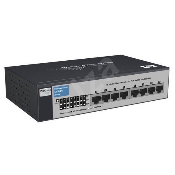HP ProCurve 1400-8G - Switch
