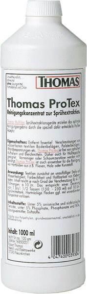 Thomas  ProTex - čistící koncentrát pro čištění koberců a čalounění 1l - Příslušenství