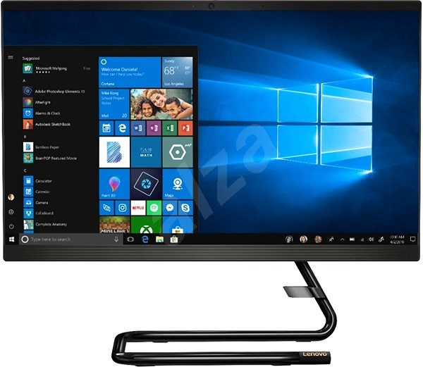Lenovo A340-22IWL Touch Black - All In One PC