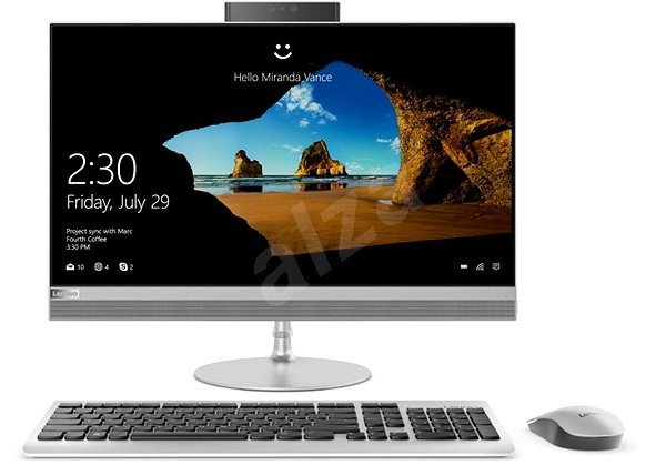 Lenovo IdeaCentre 520-24ICB Silver - All In One PC