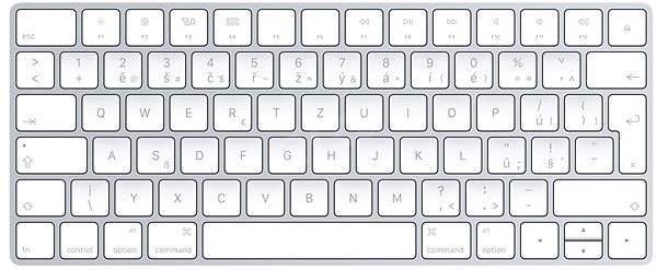 Magic Keyboard CZ Layout - Keyboard
