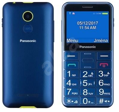 Panasonic KX-TU150EX modrý - Mobilní telefon