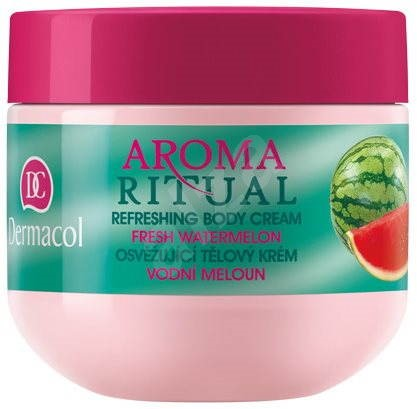 Dermacol Aroma Ritual Body Cream Fresh Watermelon 300 ml - Tělový krém