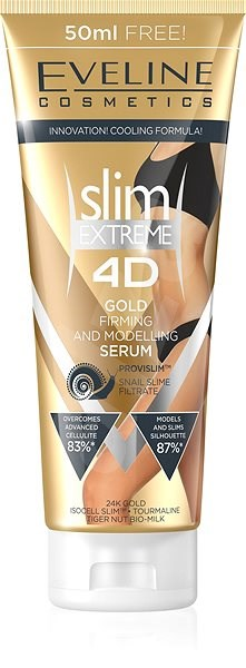 EVELINE COSMETICS Slim Extreme 4D Gold serum slimming and shaping 250 ml - Sérum