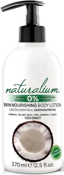 NATURALIUM Tělové mléko Kokos 370 ml - Tělové mléko