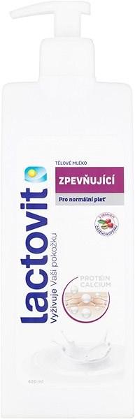 LACTOVIT Tělové mléko zpevňující 400 ml - Tělové mléko