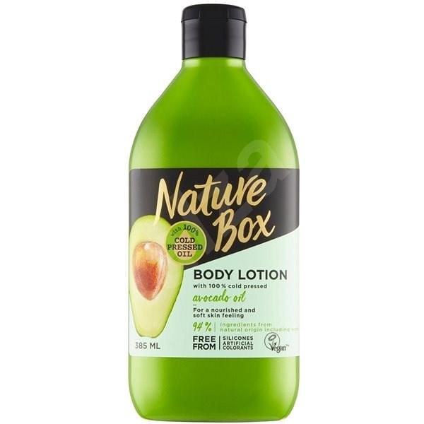 NATURE BOX Body Lotion Avocado Oil 385 ml - Tělové mléko