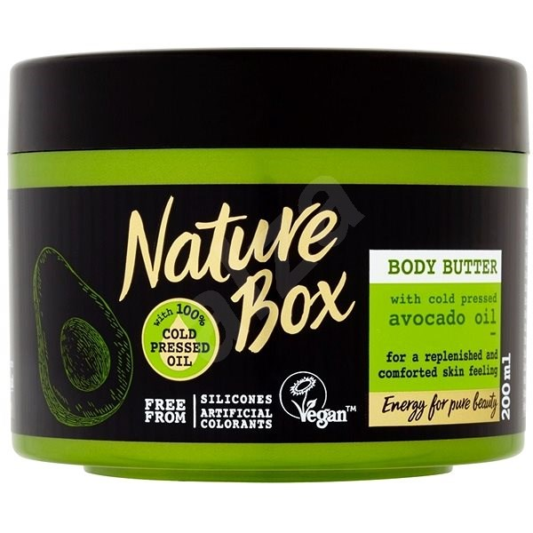 NATURE BOX Body Butter Avocado Oil 200 ml - Tělové máslo