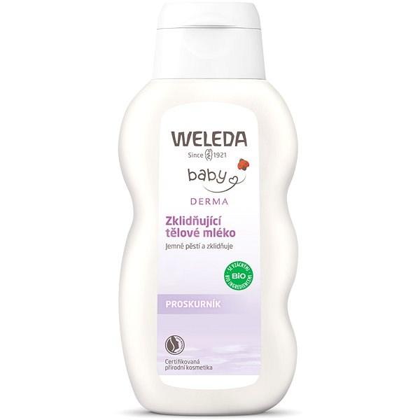 WELEDA Zklidňující tělové mléko 200 ml - Dětské tělové mléko